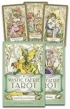 Mystic Faerie Tarot by Barbara Moore and Linda Ravenscroft (2007, Cards,Book)