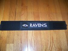 BALTIMORE RAVENS NFL drink beer bar mat  IN STOCK SHIPS NEXT BUSINESS DAY