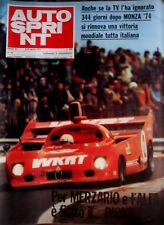 Autosprint 15 1975 Rally Safari. Iniziative dei rallysti. Peterson