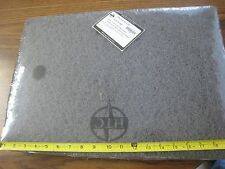 "2 new- 14"" x 20"" "" HTC Twister 2  diamond polishing ORBITAL pad BLACK # 43511420"