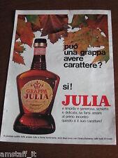 *81=JULIA GRAPPA=1971=PUBBLICITA'=ADVERTISING=WERBUNG=PUBLICITE=