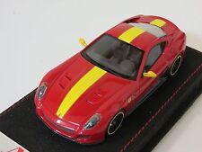 1/43 MR Collection Ferrari 599 GTO Red with Yellow Stripe 2010 Alcantara Lim. 24