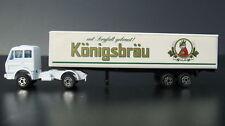 Bier Werbetruck -- Mercedes LKW - Königsbräu - Truck Nr.1 -- Biertruck