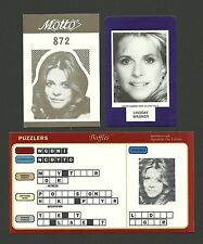 Lindsay Wagner Bionic Woman Fab Card Collection