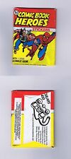 Topps Marvel Comic Book Heroes Stickers TCG 1975 Wax Pack + Gum #6600