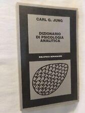 DIZIONARIO DI PSICOLOGIA ANALITICA Carl G. Jung Boringhieri libro di scritto da