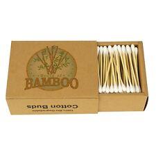 Cotons-Tiges en Bambou Bio éco-nettoyants et biodégradables