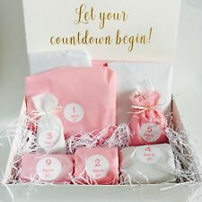 Wedding Countdown Gift Box Bride To Be Special Hamper 10 Day Advent Calendar