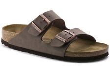 Birkenstock Arizona in Mocca Nubuck (Art:0151181) - Cork Sandals