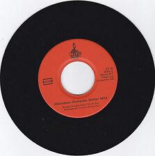 Akkordeon-Orchester Walter Wild. Schallplatte Vinyl-Single