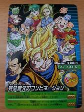 Carte Dragon Ball Z DBZ Data Carddass W Bakuretsu Impact Part SP #V-005-IV Promo