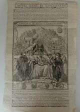 """Rare parchemin XVIIème , """"confréries de notre Dame de Montserrat"""""""