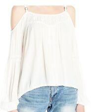 Jessica Simpson Women's Rose Top, Whisper White, S