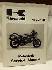 New NOS OEM Kawasaki Service Manual ZX600 1995 - 1997 Ninja ZX-6R 99924-1184-02