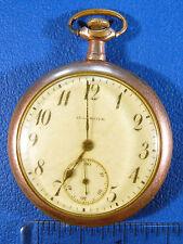 Illinois Pocket Watch - 12s 17 Jewels - Non-Running Parts / Repair - Vintage c