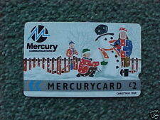 Mercury Animation/Cartoons Collectable Phone Cards