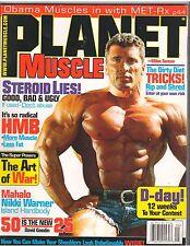Planet Muscle bodybuilding magazine/Milos Sarcev/Hot Nikki Warner 9-08