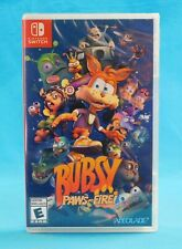 Nintendo Switch Bubsy Paws on Fire Accolade New and Sealed!