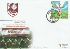 BOSNIA HERZEGOVINA 2006 GERMANY '06 WORLD CUP FOOTBALL STAMP FIRST DAY COVER