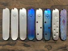 Titanium Swiss Army Knife SCALES Can be installed on all 91mm Victorinox knives