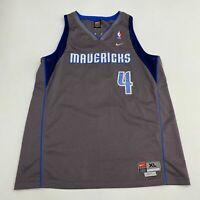 MEN'S NIKE DALLAS MAVERICKS MICHAEL FINLEY SWINGMAN JERSEY SIZE XL