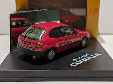 Toyota Corolla 3 Door Red 1/43 VITESSE Dealer Model Rare