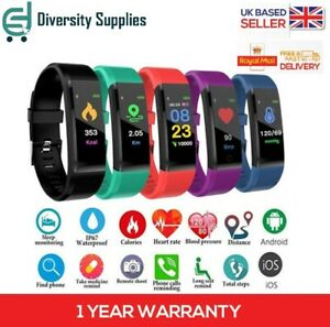 Fitness Smart Watch Band Sport Activity Tracker ADULT Kid Fitbit STEP COUNTER