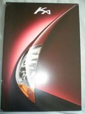 Ford Ka range brochure Jul 1997 English text