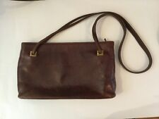 Vintage Italian Leather Piero Guidi Shoulder Bag Purse