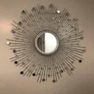 Sunburst Mirror, Home Decor, Wall Decor, Starburst Mirror