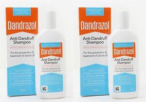Dandrazol Anti-Dandruff Shampoo - 100ml (Pack of 2)