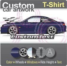 Custom T-shirt 1995 96 97 98 S14 Nissan Silvia 240 SX 240SX LE SE SR20DET coupe