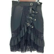 Alivila.Y Fashion Skirt Women's Size XL Burlesque Steampunk Victorian Goth Gaudy