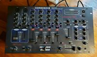 AMERICAN DJ AUTO XDM-3633 Four Channel Preamp Mixer Feather/Cross Fader