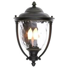 Progress Lighting Prestwick 3-Light Outdoor Oil-Rubbed Bronze Wall Lantern