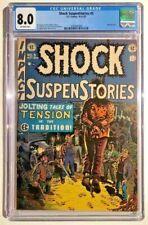 Shock SuspenStories 5 - CGC 8.0 - Off-White Pages