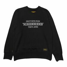 "New Neighborhood ""Craft With Pride"" Pap Knit Sweatshirt Black Men's Large"
