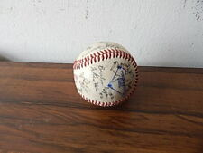 OFFICIAL BRISBANE BANDITS AUSTRALIAN SIGNED TEAM BASEBALL NICE INTERNATIONL SALE
