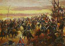 Mort Kunstler Battle for the Shenandoah Limited Edition Civil War Print S/N