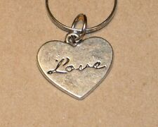 Love Heart Dog Collar Charm
