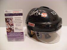 Jarome Iginla Autographed Signed Calgary Flames Helmet JSA COA NICE Autograph!