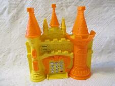 Vintage Plastic Castle Shaped Phone Toy Tong Jia 0888 Music Sounds Lights