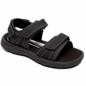 Rockport Men's Get Your Kicks Quarter Strap Coffee Brun Sandals V80419 Size 13