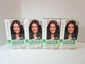 4 CLAIROL NATURAL INSTINCTS #4W DARK WARM BROWN MM 17944