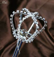 Sparkling Scepter Wand Rhinestone Props Pageant Wedding Party Costumes Sceptre