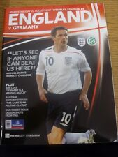 22/08/2007 England v Germany [At Wembley] . Any faults are noted in brackets, ot