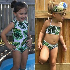 Baby Kids Girls Swimming Costume Bikini Swimwear Swimsuit Bathing Suit Beachwear