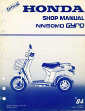 84 Honda Gyro service manual NN50MD G1GK000