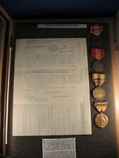 4 to Jones WW I victory with transport bar, Mexico Philippine West Indies medal
