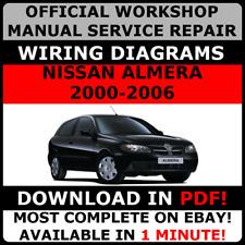 nissan almera tino 2005 factory service repair manual